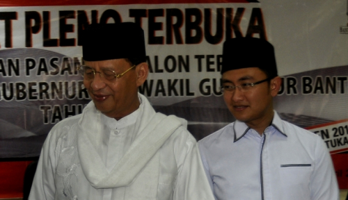 Foto Gubernur Banten Akui Proses Lelang Proyek Lambat