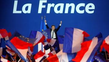 Foto Ini Janji Macron Usai Dilantik Jadi Presiden Perancis