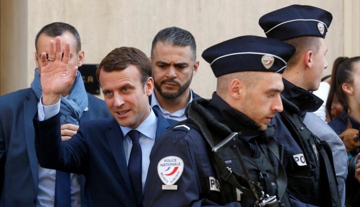 Foto Berita Prancis Bahas Perang Suriah dengan Mesir