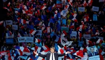 Foto Mengintip Kemeriahan Pelantikan Emmanuel Macron jadi Presiden Prancis