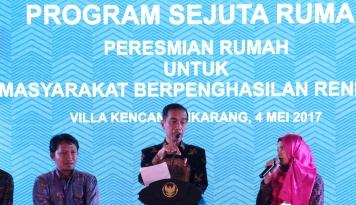 Foto Jokowi: Saya Dulu 9 Tahun Ngontrak