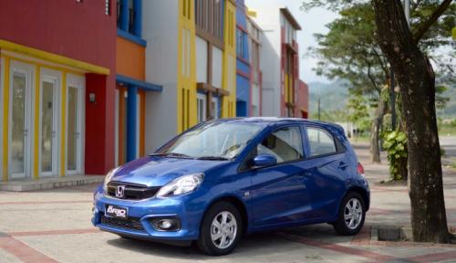 Foto Brio Satya dan HR-V Dongkrak Penjualan Honda di Juni 2018