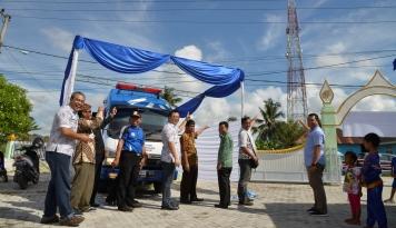 Foto Tower Bersama Perluas Jangkauan CSR Kesehatan ke Kalimantan