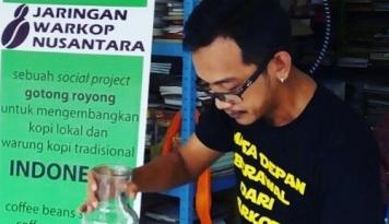 Foto Jaringan Warkop Nusantara, Bisnis Sosial yang Berbuah Manis