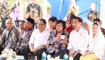 Foto Mentri LHK Resmi Buka Pameran Flona 2017