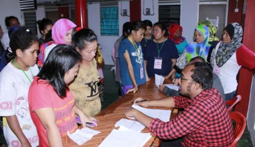 Foto BPJS Ketenagakerjaan Catat Kepesertaan TKI 7.500 Orang