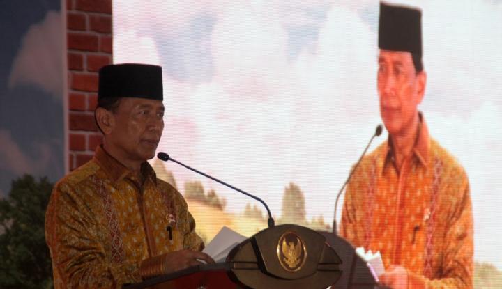 Foto Berita Wiranto: Istilah Kriminalisasi Ulama Tidak Tepat