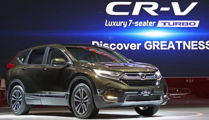 Foto Berita All New Honda CR-V Turbo Siap Kuasai Pasar Otomotif RI