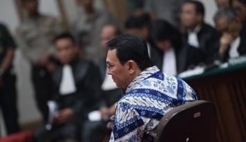 Foto Ahok Bebas, Jokowi atau Prabowo yang Untung?