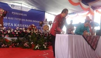 Foto Dukung Perekonomian Daerah, BI Sumut Resmikan Kas Titipan di Kota Kabanjahe