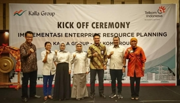 Foto Telkom Dukung Penyelenggaraan Enterprise Resource Planning di Lingkungan Kalla Group