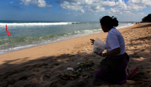 Foto Tingkat Okupansi Hotel di Bali Mulai Meroket