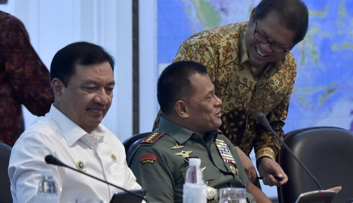 Foto Berita Panglima TNI: Apapun Keputusan UU, Siap Perintah!