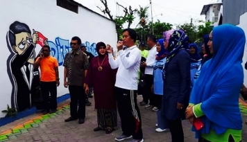 Foto Wih, Ada Lorong Peduli Inflasi di Makassar