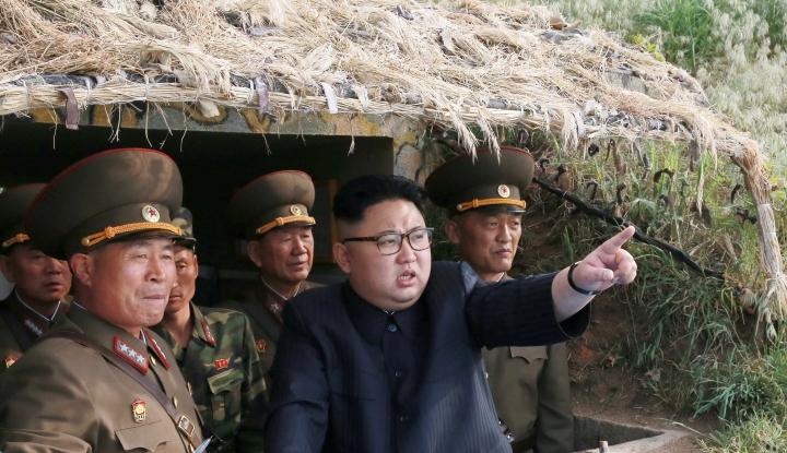 Foto Berita Manhattan, Gedung Putih, dan Pentagon Jadi Sasaran Utama Nuklir Korea Utara