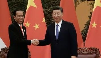 Foto Jokowi 'Terbang' Sampai ke China, Apa Hasilnya?