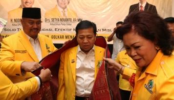 Foto Kalau Golkar Ingin Selamat di Pemilu 2019, Novanto Harus Dicongkel