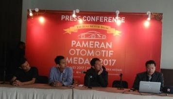 Foto Pameran Otomotif Medan, Targetkan 38 Ribu Pengunjung