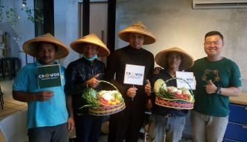 Foto Crowde Bidik 5.000 Investor Tanamkan Modal di Bidang Agrikultur