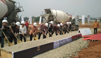 Foto Sinar Mas Land Groundbreaking Kawasan Digital Hub di BSD City