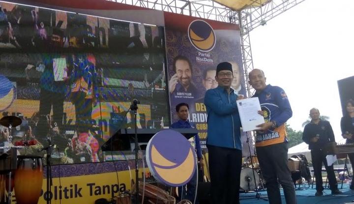 Foto Berita Sering Jadi Korban Fitnah, Ridwan Kamil: Itu Risiko!
