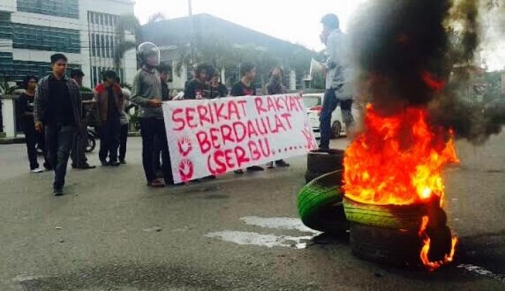 Foto Berita Gawat! Mahasiswa Makassar Minta TNI Rebut Pemerintahan