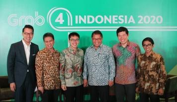 Foto 2018, Grab Akan Lahirkan 5 Juta Wirausahawan Mikro di Indonesia
