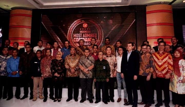 Foto Berita Inilah Perusahaan Peraih Indonesia Most Admired Companies Award 2017