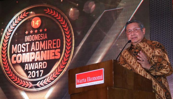 Foto Berita Di Hadapan Pelaku Bisnis, SBY Ucapkan Terima Kasih Telah Pernah Bekerja Sama