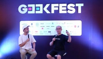 Foto Vidi Aldiano Umumkan Ciptakan Startup Digital Berbasis 'Crowdfunding' di Geekfest 2017