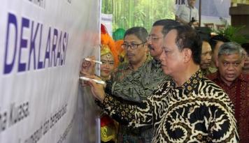 Foto Menristek dan Gubernur Sumut Luncurkan Sipaten