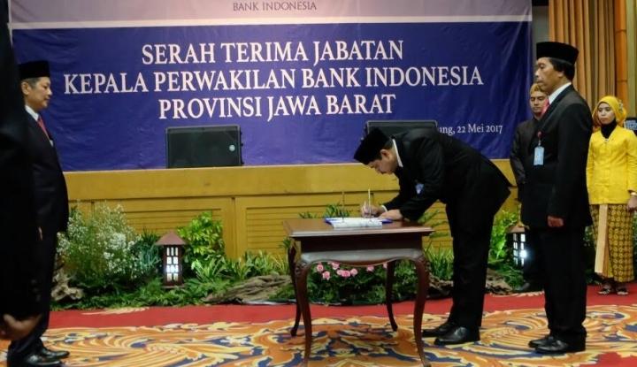 Foto Berita Bank Indonesia Jabar Punya Bos Baru