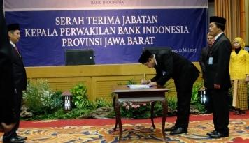 Foto Bank Indonesia Jabar Punya Bos Baru