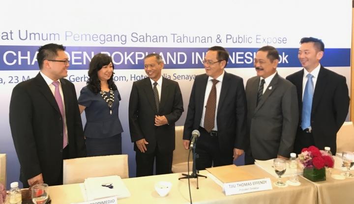 Foto Berita Harga Saham Naik Signifikan, Wakil Presiden Direktur CPIN Jual Sahamnya