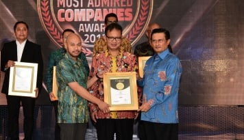 Foto HPM Sabet Penghargaan Indonesia Most Admired Companies Award 2017