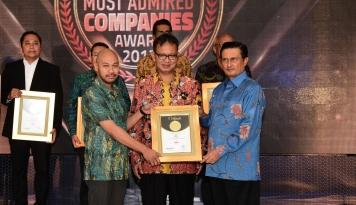 Foto HPM Sabet Penghargaan Indonesia Most Admired Companies Award 2017