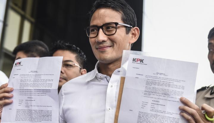 Foto Berita Sandiaga Penuhi Panggilan KPK