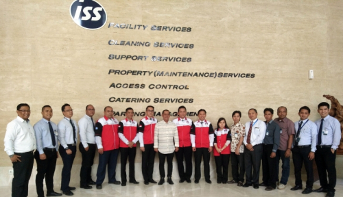Foto Karyawan ISS Indonesia Bentuk Serikat Pekerja