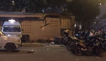 Foto Saksi Mata: Bom Kampung Melayu Meledak Dekat Pos Polisi