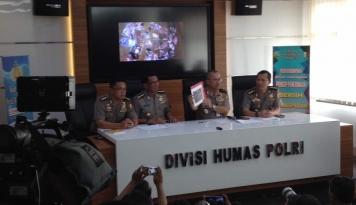 Foto Polisi Korban Bom Kampung Melayu Mendapat Kenaikan Pangkat