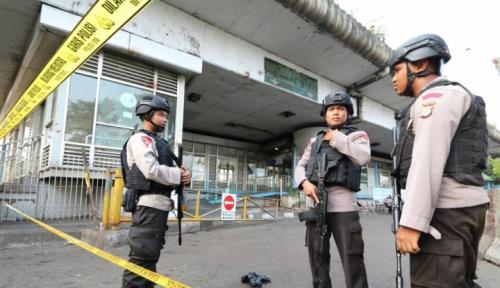Foto Polisi Korban Bom Medan Bakal Diganjar . . . .
