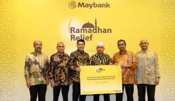 Foto Ramadan Relief Maybank Islamic Rambah Regional