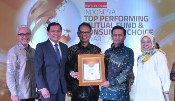 Foto Citi Indonesia Meraih Penghargaan Best Perform in Custodian Bank