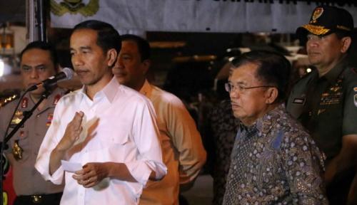 Foto Ada Serangan Bom Lagi, Apa Komentar Jokowi?
