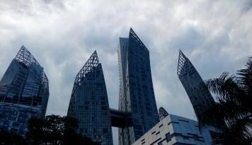 Bikin Cemas, Pusat Bisnis Singapura Rentan Tenggelam?