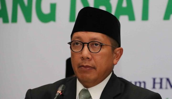 Foto Berita Gara-Gara Jarinya, Menteri Agama Dilapor