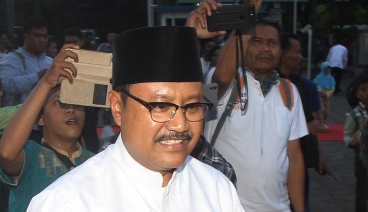 Foto Berita Relawan Jokowi Janji Menangkan Gus Ipul
