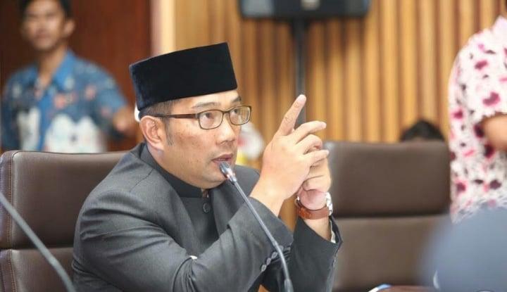 Foto Berita Ridwan Kamil Bantah Mundur Nyalon Pilgub Jabar