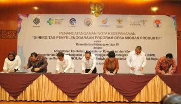 Foto Delapan Kementerian Sepakat Garap Program Desa Migran Produktif