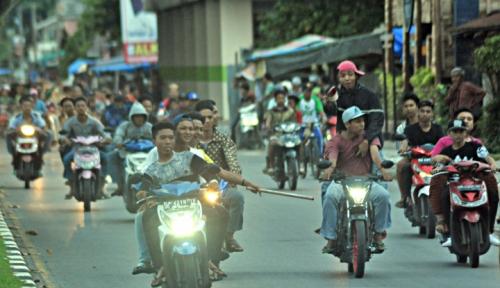 Foto Begal Sadis di Karawang Tewas Didor Polisi
